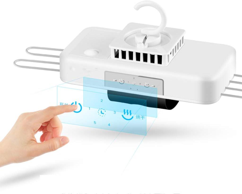 mit Thermostat und Timer 380w wei/ß Mute zu installieren Mobile Dryer Keine Notwendigkeit Yhz@ Coco Portable Mini Falttrockner schnell trocknende Kleidung multidimensionale Kleiderb/ügel
