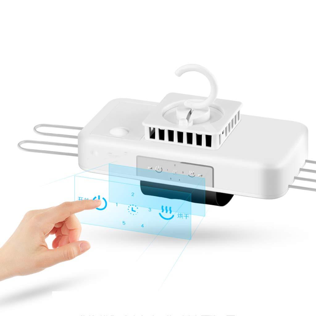 Secadora Mini portátil Coco, sin Necesidad de Instalar colgadores multidimensionales de Ropa de Secado rápido, con termostato y Temporizador 380w, ...