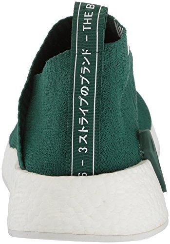 Adidas Originals Hombres Nmd_cs2 Pk Sneaker Colegial Verde / Blanco / Blanco Cristal