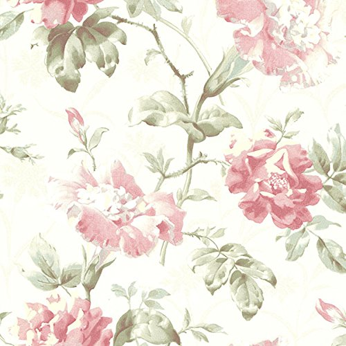 Beacon House 2614-21004 Juliana Vintage Floral Wallpaper, ()