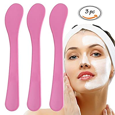 Mask Spoon Stick, Facial Mask Mixing Spoon Spatula, Face Skin Care Mask Spoon Applicator, DIY Mask Tool