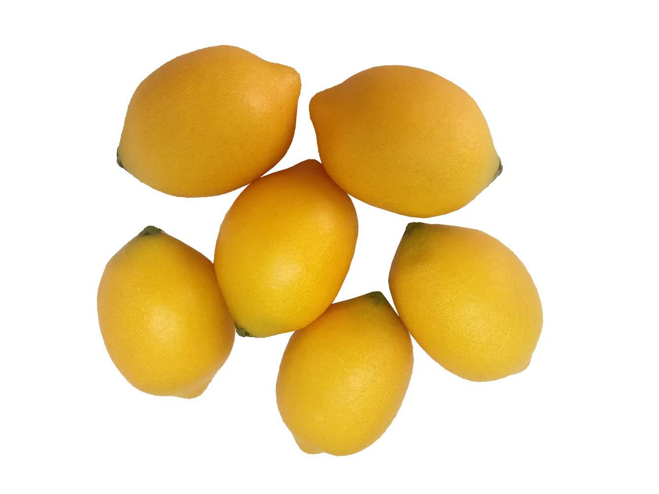 6-PCS-Lifelike-Fake-Fruit-Artificial-Yellow-Lemons-Tabletop-Kitchen-Party-Photograph-Decoration