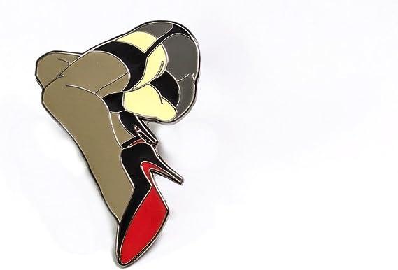 BE STILL HARD ENAMEL PIN BY TYSON MCADOO PIN-UPS