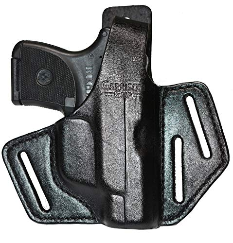 Garrison Grip Custom Formed Premium Full Grain Italian Leather 2 Position Holster Fits Ruger LCP LCP II 380
