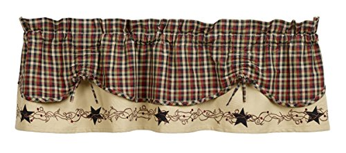 Olivia's Heartland Tangled Berries Scalloped Valance