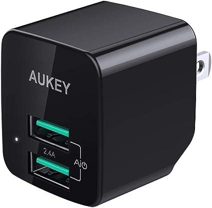 Amazon.com: AUKEY PA-U32 USB cargador de pared: STSS
