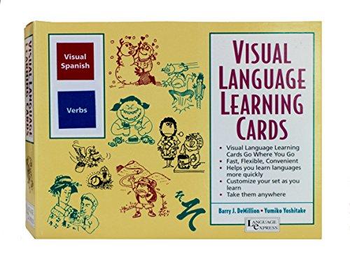 VISUAL SPANISH VERBS Pocket Visual Language Learning Cards