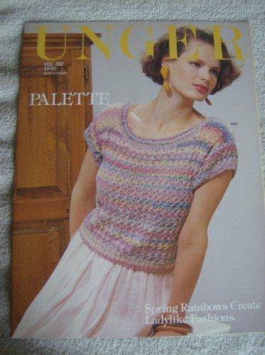 Unger Palette - Knitted Short Sleeve Sweaters - Patterns (Vol 392)