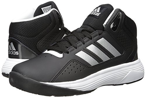 new style eea68 69fbd Amazon.com  adidas NEO Mens Cloudfoam Ilation Mid Wide Basketball Shoe   Basketball