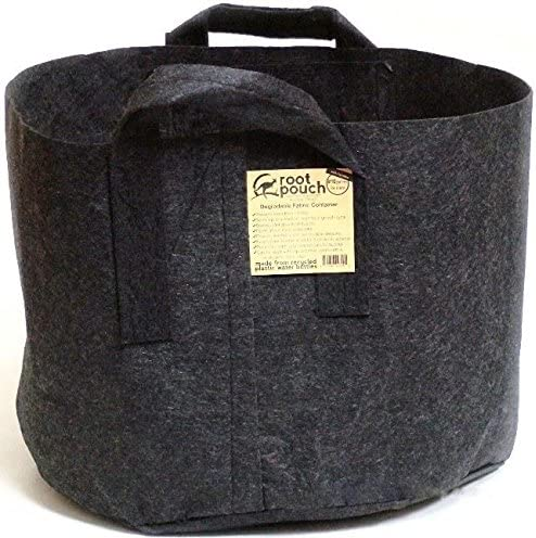 ROOT POUCH BLACK 15 Gallon with Handles 10 Pack Fabric Grow Container USA Distributor