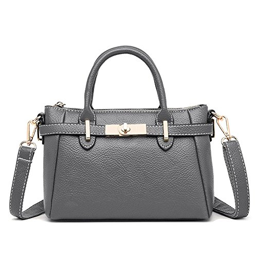 La Lady'S Negro Bolsa Solo Sesgar Hombro Nueva GWQGZ Handbag De Simple Gray Moda Spanning Es ZSdOqB