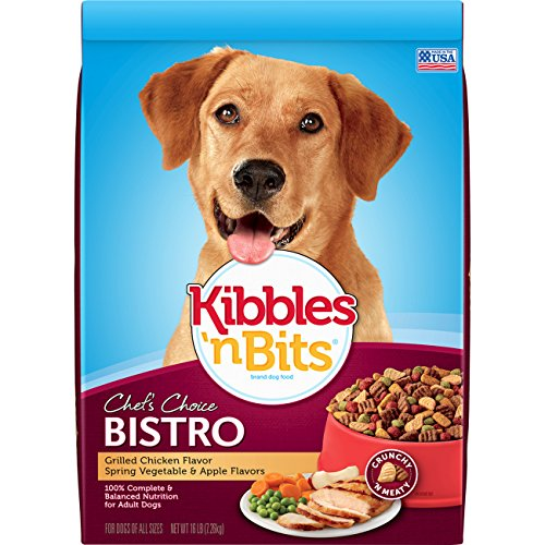 Kibbles 'n Bits Bistro Oven Roasted Beef Flavor Dry Dog Food, 16-Pound