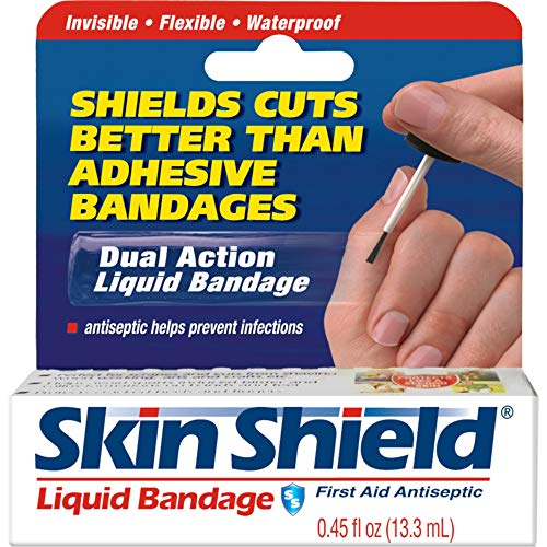Skin Shield Liquid Bandage 0.45 oz (Pack of 2)