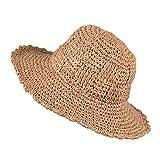 Sombreros Women Fashion Summer Sun Hats for Travel Vacation Beach Straw Hat