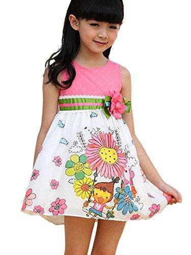 Ruffle Front Cotton Dress - 4