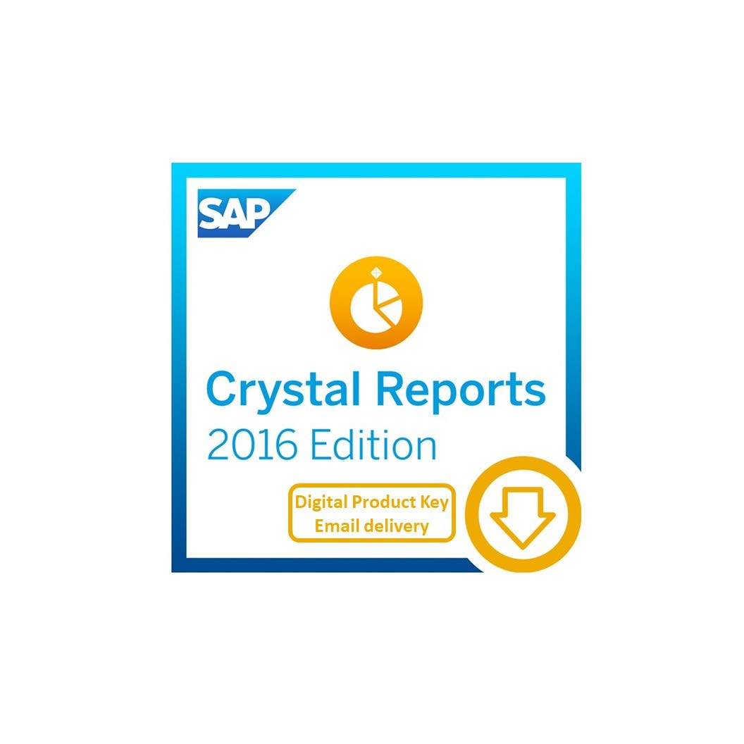 SAP Crystal Reports 2016 [PC Download] by SAP