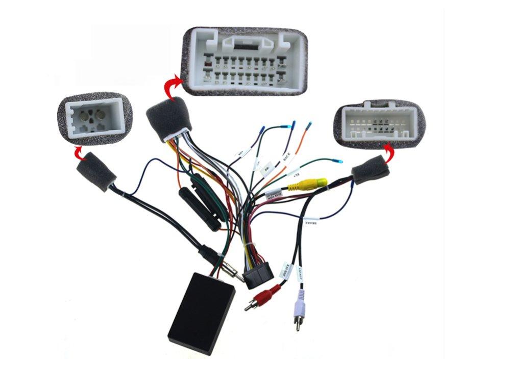 joying Toyota Universal Verkabelung Kabel für in Dash Android joying ...