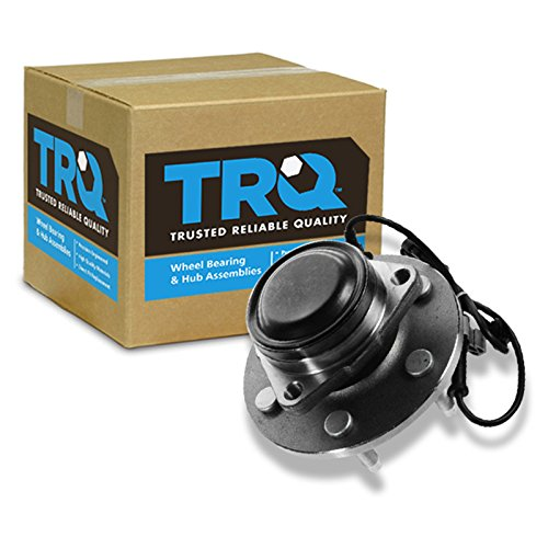 TRQ Front Wheel Hub & Bearing for Chevy GMC Pickup Truck 2WD 2x4 6 Lug w/ ABS