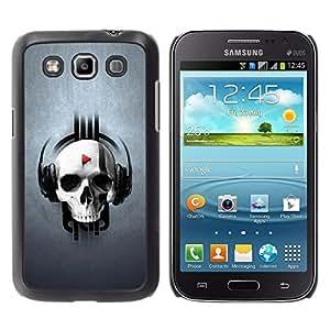 TECHCASE**Cubierta de la caja de protección la piel dura para el ** Samsung Galaxy Win I8550 I8552 Grand Quattro ** Skull Beat Play