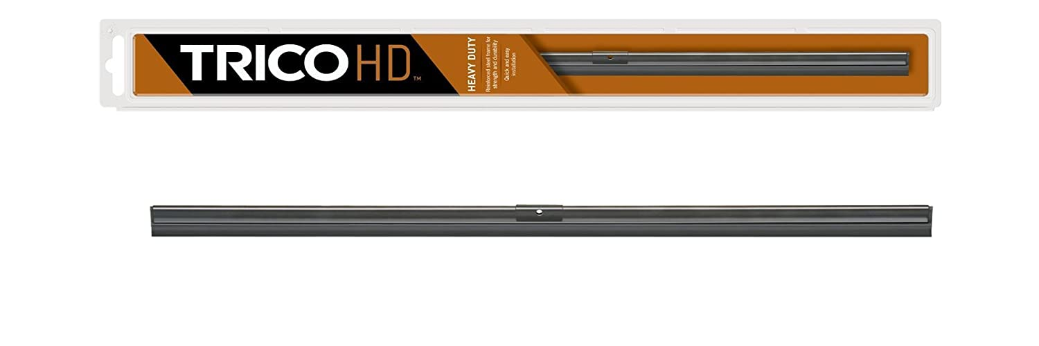 Pack of 1 TRICO HD 22 Trico 61-220 61 Series Heavy Duty Silver Wiper Blade for Flat Windshields 22 Pack of 1