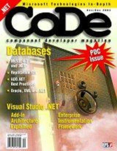 CODE Magazine - 2003 - November/December (Ad-Free!)