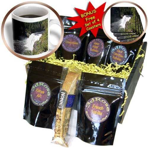 Danita Delimont - Waterfalls - Mesa Waterfall, Henrys Fork, Snake River, Idaho - US13 DFR1054 - David R. Frazier - Coffee Gift Baskets - Coffee Gift Basket (cgb_90071_1) (Henry And David Gift Baskets)
