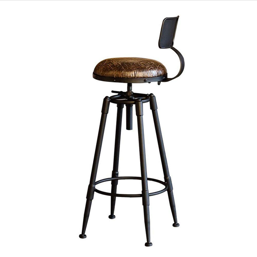 AO-stools Iron Bar Stool Front Desk High Bar Stool Bar Chair Cafe by AO (Image #1)
