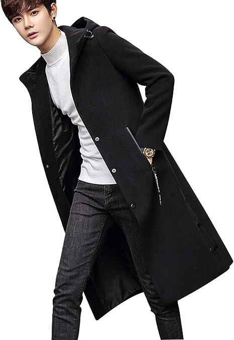 chaqueta hasta las rodillas hombre