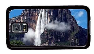 Hipster free Samsung Galaxy S5 Cases angel falls venezuela PC Black for Samsung S5