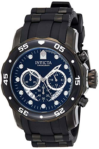 Invicta Men's Quartz Watch, Chronograph Display and Stainless Steel Strap 6986