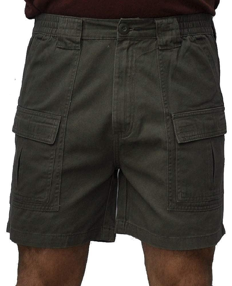 Trod Men's Cargo Short with Side Pocket TSPS