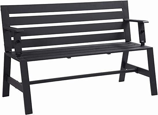 Liberty Garden Patio SB-PBT Cameron Convertible Bench