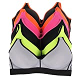 6 pack sports bra - W L INTIMATES Wireless Bra for Women Comfort Sport Bra Set 6 Pack, 36B