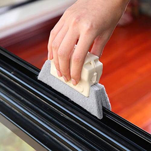 KINGZHUO 2 Sets of Window Slot Cleaning Tool Kitchen Corner Cleaning Tools for Sink or Sliding Door Track Multifunctional Cleaning Tools for Kitchen Bathroom by KINGZHUO (Image #4)
