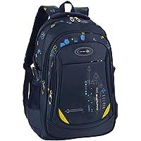Bageek School Bag for Boys Bookbag Multi-pockets School Backpack Casual Backpack