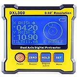 Turritop Digital Protractor Inclinometer DXL360 Dual Axis Level measure box Angle ruler Elevation meter