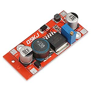 DROK LM2577 DC Boost Power Converter 3-34V to 4-35V 3A Adjustable Step Up Voltage Regulator Board