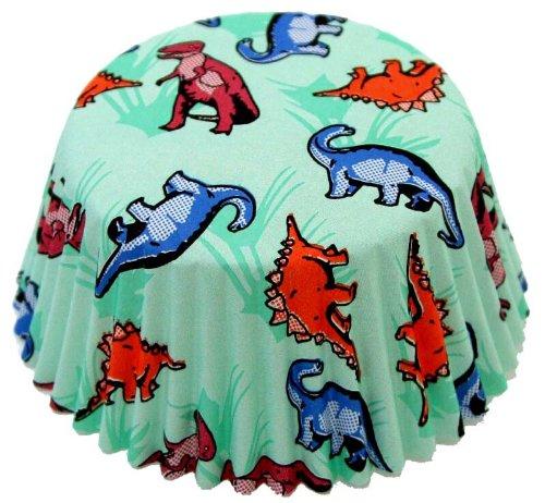 Fox Run Dinosaur Standard Bake Cups, 50 Cups (Dinosaur Cupcake Pan compare prices)