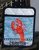 Stars & Stripes Lobster Pocket Mitt Potholder
