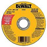 DeWalt DW8062 4-1/2'' x .045 x 7/8'' Type 1 Metal Cut Off Wheel - Quantity 55