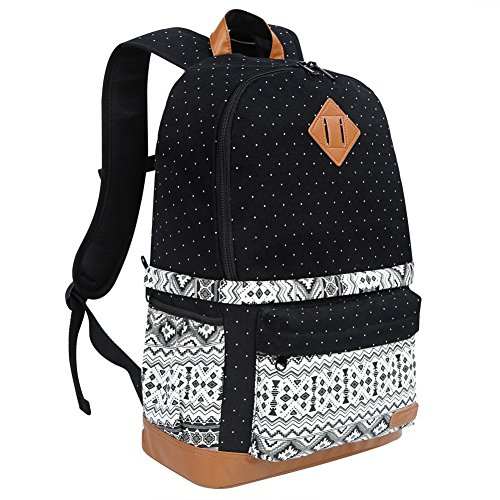 Koolertron Professional Cute Canvas Camera Case Backpack Rai