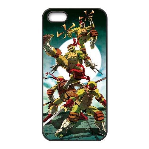 Tmnt GF07QW4 coque iPhone 5 5s cellulaire Cas de téléphone coque V6JJ4Q4CR