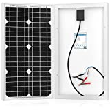 ACOPOWER Mono Solar Panel For 12 Volt Battery Charging, Off Grid, 30W
