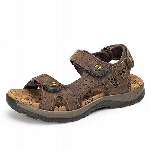 grandi di RBB uomo C con scarpe spiaggia caviglie uomo piatti uomo casual da sandali da Sandali dimensioni da da estivi nxSXnH