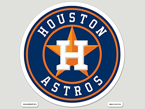 WinCraft MLB Houston Astros 79922013 Perfect Cut Color Decal, 8