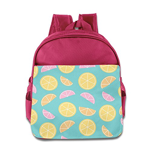 t Breathable Kid's Canvas Shoulder Backpack Schoolbag Bag (Blackberry Muffins)