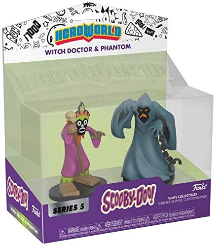 Witch Doctor Item (Funko Hero World - Scooby-Doo [Series 5] - Witch Doctor & Phantom - Target)
