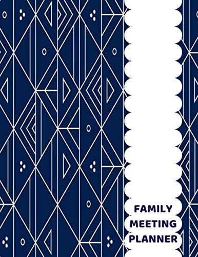 """Family Meeting Planner: Family Meeting Minutes Notebook Journal, Household Planning, Gifts for Men, Women, Adults, Parents, Mum, Dad, Grandparents, ... 8.5"""" x 11"""", 110 Pages (Household Supplies)"""