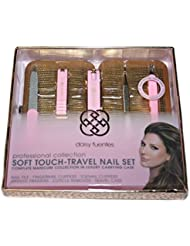 Daisy Fuentes Soft Touch Travel Nail Set in Luxury Carrying.