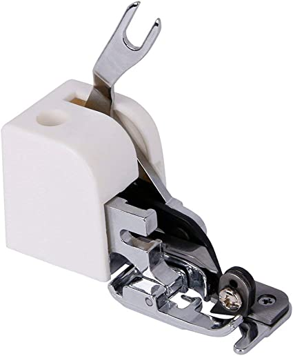 Side Cutter Overlock Sewing Machine Presser Foot Attachment for Janome Brother